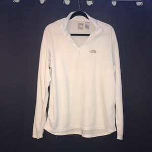 The north face pullover-white